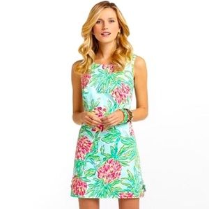 Lilly Pulitzer Delia Shift Dress Spike the Punch